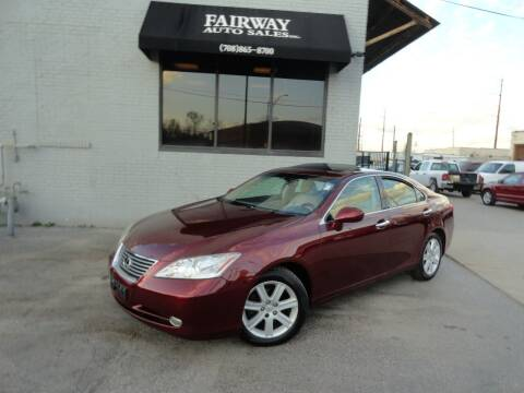 2008 Lexus ES 350 for sale at FAIRWAY AUTO SALES, INC. in Melrose Park IL