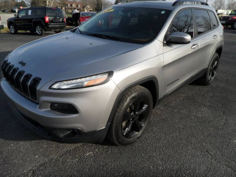 2016 Jeep Cherokee for sale at CARSON MOTORS in Cloverdale IN