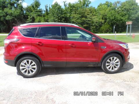 2017 Ford Escape for sale at Town and Country Motors in Warsaw MO