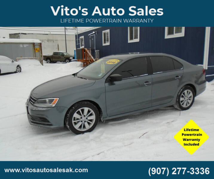 2016 Volkswagen Jetta for sale at Vito's Auto Sales in Anchorage AK