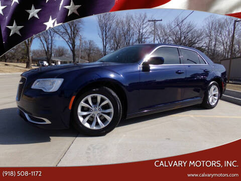 2016 Chrysler 300 for sale at Calvary Motors, Inc. in Bixby OK