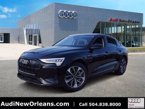 2021 Audi e-tron for sale at Metairie Preowned Superstore in Metairie LA