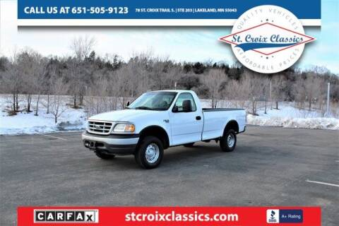 1999 Ford F-150 for sale at St. Croix Classics in Lakeland MN