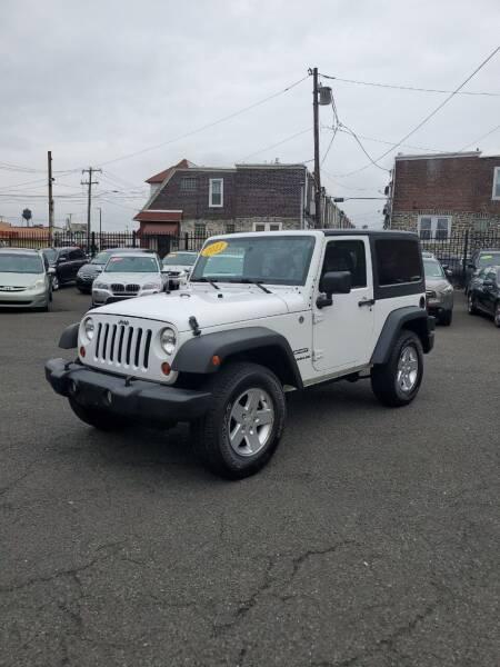 2011 Jeep Wrangler for sale at Key & V Auto Sales in Philadelphia PA