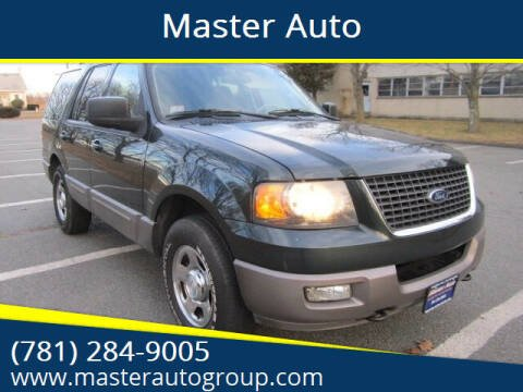 2003 Ford Expedition for sale at Master Auto in Revere MA