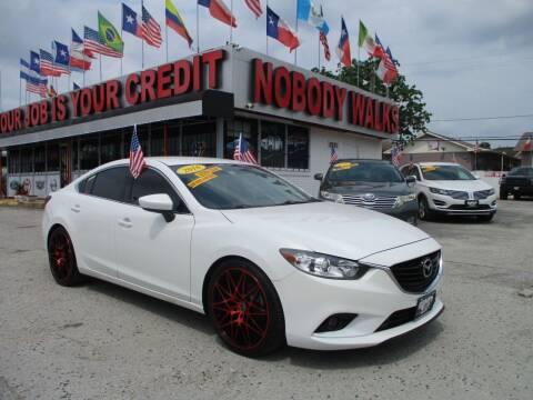 2016 Mazda MAZDA6 for sale at Giant Auto Mart 2 in Houston TX