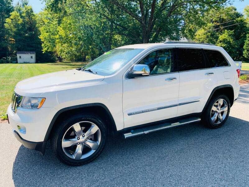 2012 Jeep Grand Cherokee for sale at 41 Liberty Auto in Kingston MA
