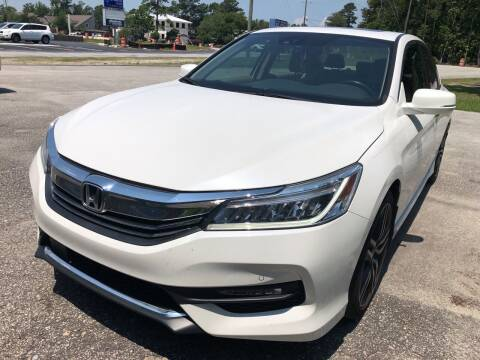2017 Honda Accord for sale at County Line Car Sales Inc. in Delco NC