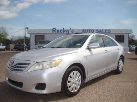 2010 Toyota Camry for sale at Rocky's Auto Sales in Corpus Christi TX