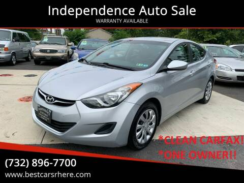 2012 Hyundai Elantra for sale at Independence Auto Sale in Bordentown NJ