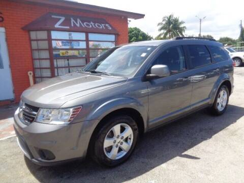 2012 Dodge Journey for sale at Z MOTORS INC in Hollywood FL