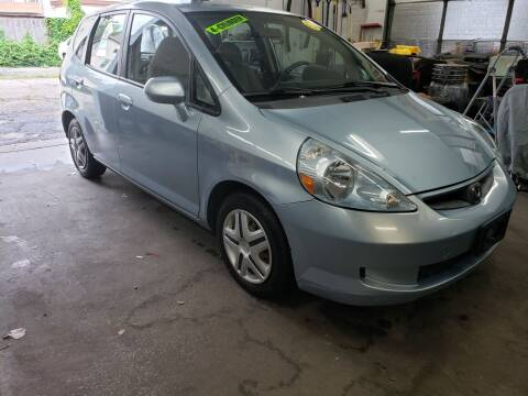 2007 Honda Fit for sale at Devaney Auto Sales & Service in East Providence RI