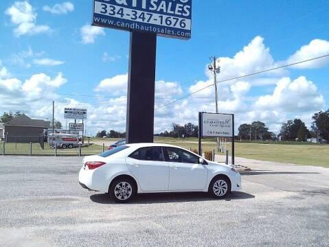 2020 Toyota Corolla for sale at C & H AUTO SALES WITH RICARDO ZAMORA in Daleville AL