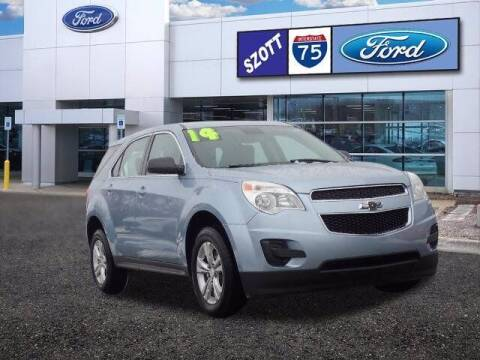 2014 Chevrolet Equinox for sale at Szott Ford in Holly MI