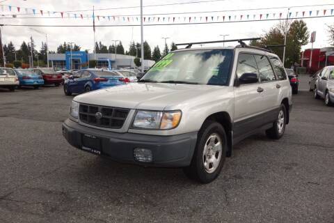 2000 Subaru Forester for sale at Leavitt Auto Sales and Used Car City in Everett WA