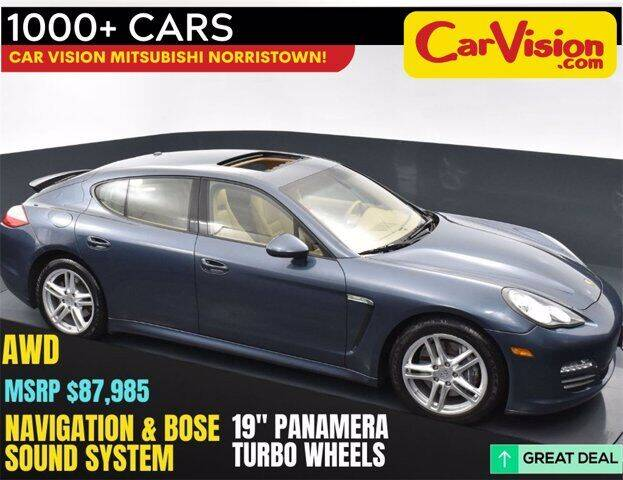2012 Porsche Panamera for sale at Car Vision Buying Center in Norristown PA
