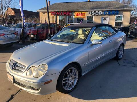 2008 Mercedes-Benz CLK for sale at DYNAMIC CARS in Baltimore MD