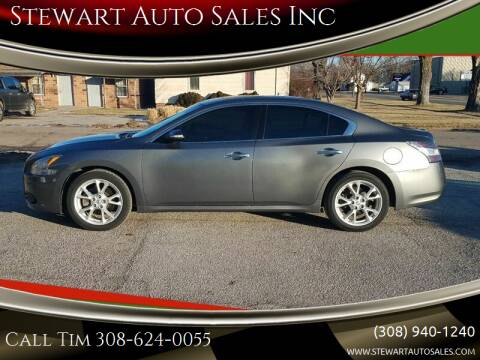 2014 Nissan Maxima for sale at Stewart Auto Sales Inc in Central City NE