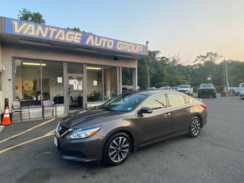 2017 Nissan Altima for sale at Vantage Auto Group in Brick NJ