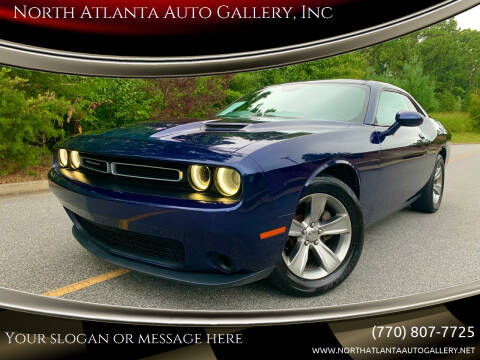 2015 Dodge Challenger for sale at North Atlanta Auto Gallery, Inc in Alpharetta GA