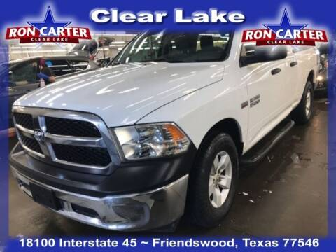 2018 RAM Ram Pickup 1500 for sale at Ron Carter  Clear Lake Used Cars in Houston TX