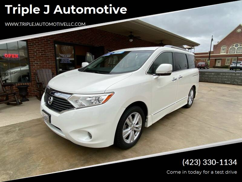 2011 Nissan Quest for sale at Triple J Automotive in Erwin TN