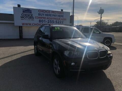 2008 BMW X5 for sale at Choice Motors of Salt Lake City in West Valley  City UT
