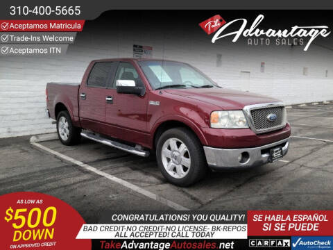 2006 Ford F-150 for sale at ADVANTAGE AUTO SALES INC in Bell CA