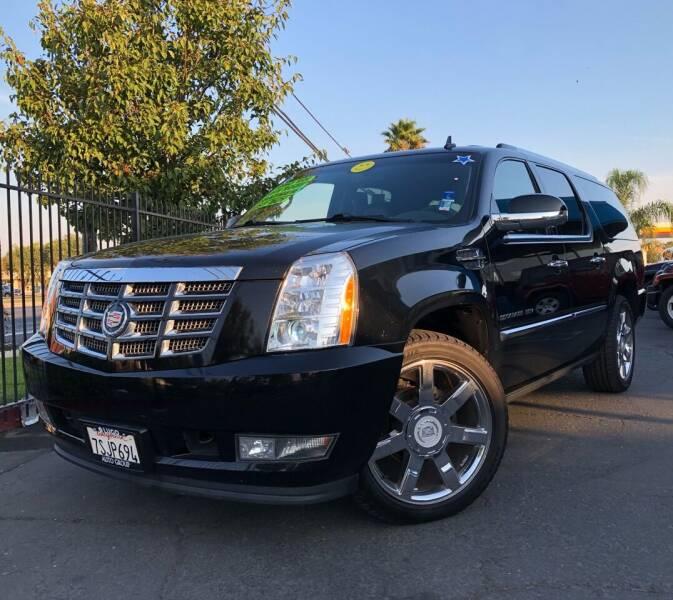 2011 Cadillac Escalade ESV for sale at LUGO AUTO GROUP in Sacramento CA