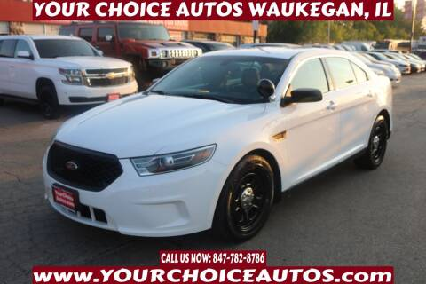 2017 Ford Taurus for sale at Your Choice Autos - Waukegan in Waukegan IL
