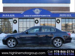 2007 BMW 5 Series for sale at Highline Group Motorsports in Lowell MA