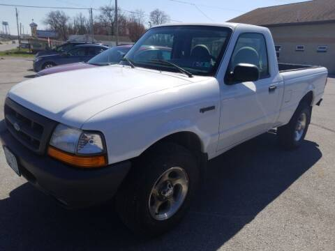 2000 Ford Ranger for sale at Perry Auto Service & Sales in Shoemakersville PA