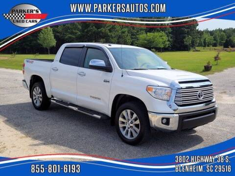 2014 Toyota Tundra for sale at Parker's Used Cars in Blenheim SC
