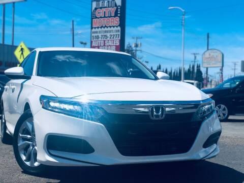 2018 Honda Accord for sale at City Motors in Hayward CA