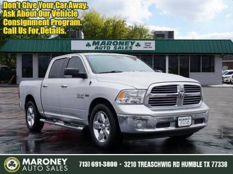 2017 RAM Ram Pickup 1500 for sale at Maroney Auto Sales in Humble TX