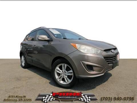 2011 Hyundai Tucson for sale at PRIME MOTORS LLC in Arlington VA