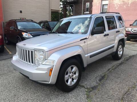 2009 Jeep Liberty for sale at MG Auto Sales in Pittsburgh PA