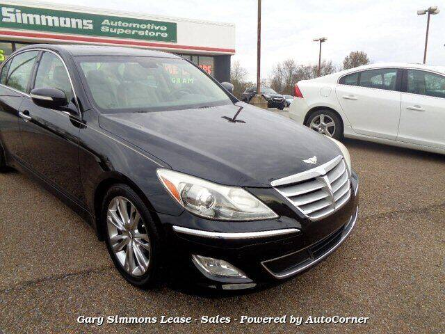 2012 Hyundai Genesis for sale at Gary Simmons Lease - Sales in Mckenzie TN
