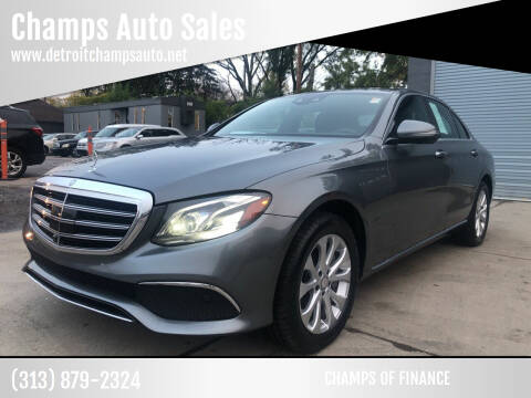 2017 Mercedes-Benz E-Class for sale at Champs Auto Sales in Detroit MI