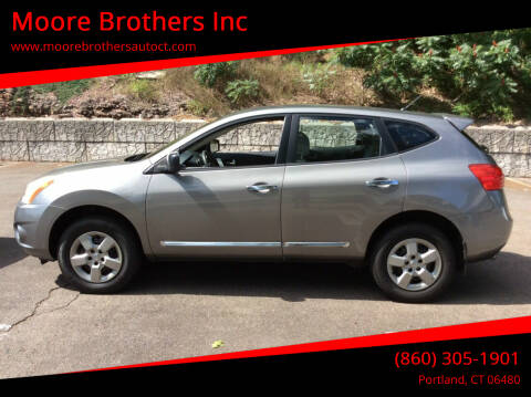 2012 Nissan Rogue for sale at Moore Brothers Inc in Portland CT