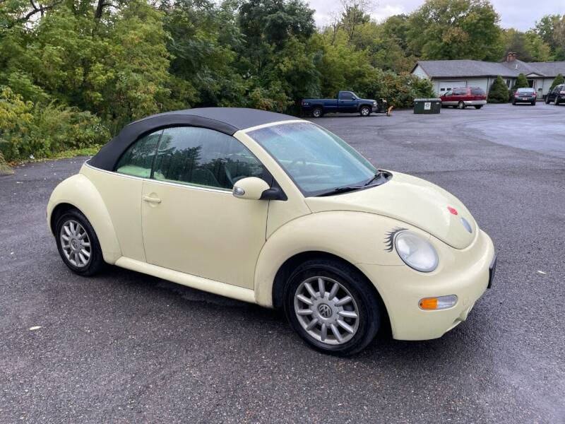 2005 Volkswagen Beetle Convertible for sale at Mark Regan Auto Sales in Oswego NY