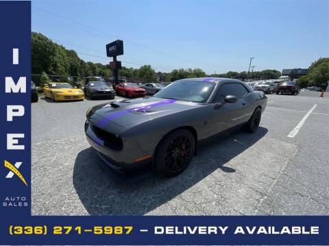 2016 Dodge Challenger for sale at Impex Auto Sales in Greensboro NC