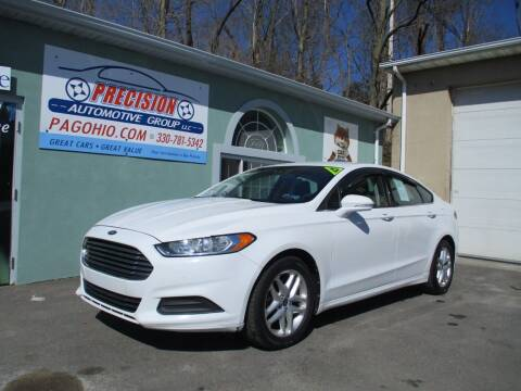 2013 Ford Fusion for sale at Precision Automotive Group in Youngstown OH