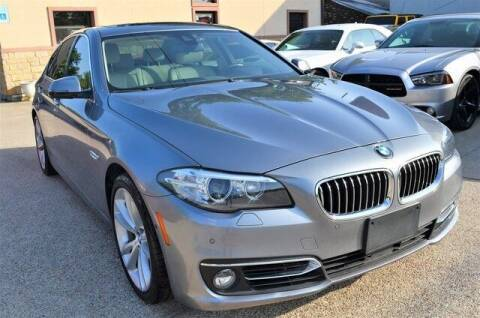 2014 BMW 5 Series for sale at LAKESIDE MOTORS, INC. in Sachse TX