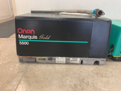 ONAN 5500 MARGUIS GOLD SERIES for sale at SOUTHERN IDAHO RV AND MARINE - Generators in Jerome ID