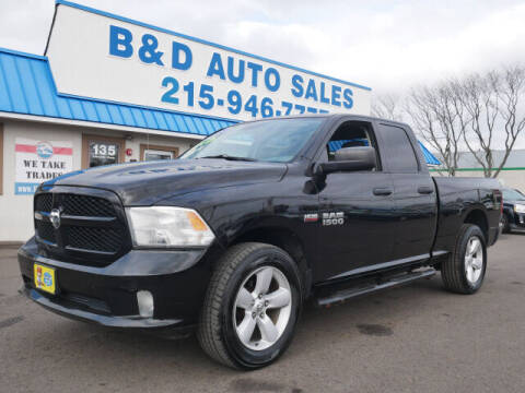 2014 RAM Ram Pickup 1500 for sale at B & D Auto Sales Inc. in Fairless Hills PA