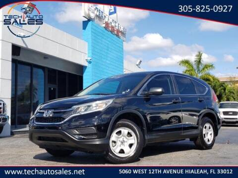 2016 Honda CR-V for sale at Tech Auto Sales in Hialeah FL