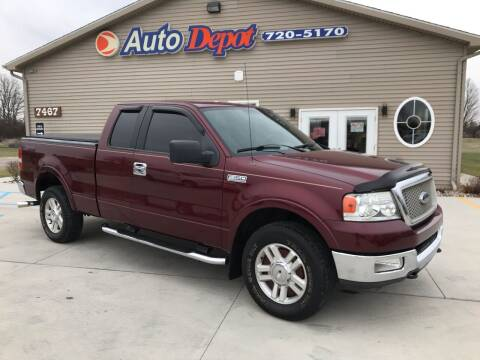 2004 Ford F-150 for sale at The Auto Depot in Mount Morris MI