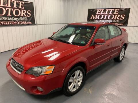2005 Subaru Outback for sale at Elite Motors in Uniontown PA