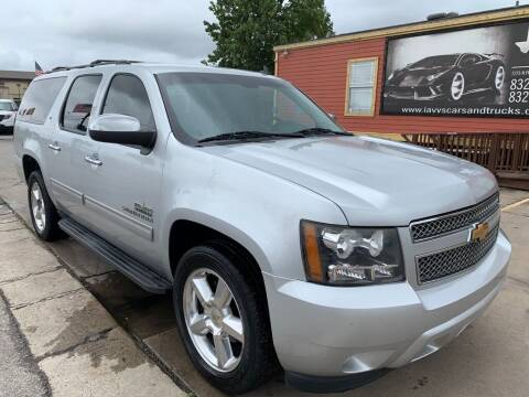 2012 Chevrolet Suburban for sale at JAVY AUTO SALES in Houston TX
